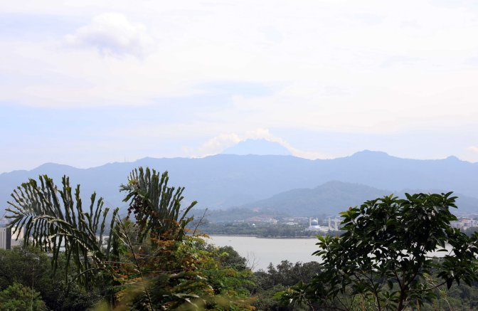 View of Mount Kinabalu