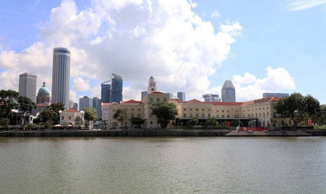 Colonial and modern architecture, Singapore