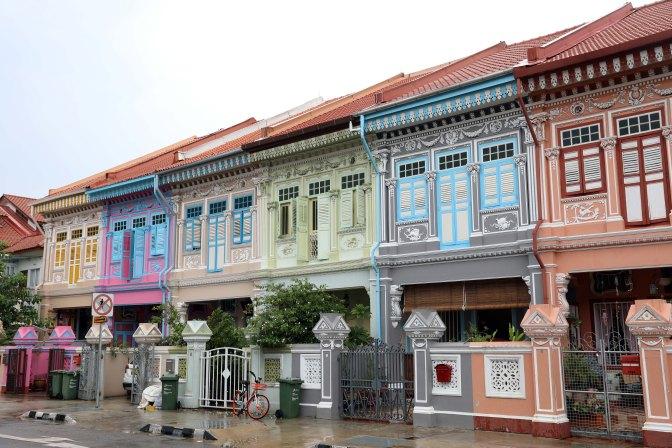 Terrace Houses, Singapore