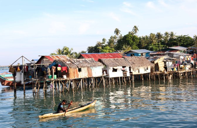 Sea Gypsy village, Pulau Mabul