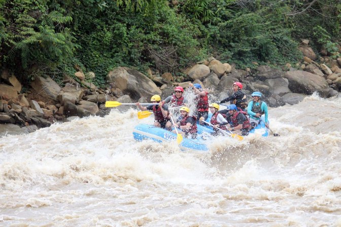 White Water Rafting Padas River