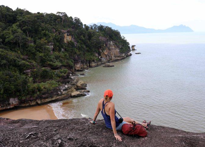View of Pandan Kecil beach on South China Sea