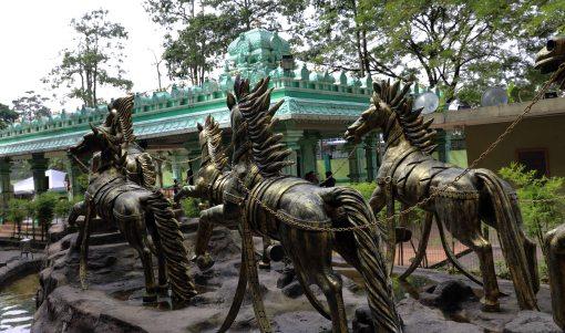 Outside Rama's Shrine Cave