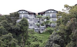 Typical architecture of Tanah Rata, Cameron Highlands
