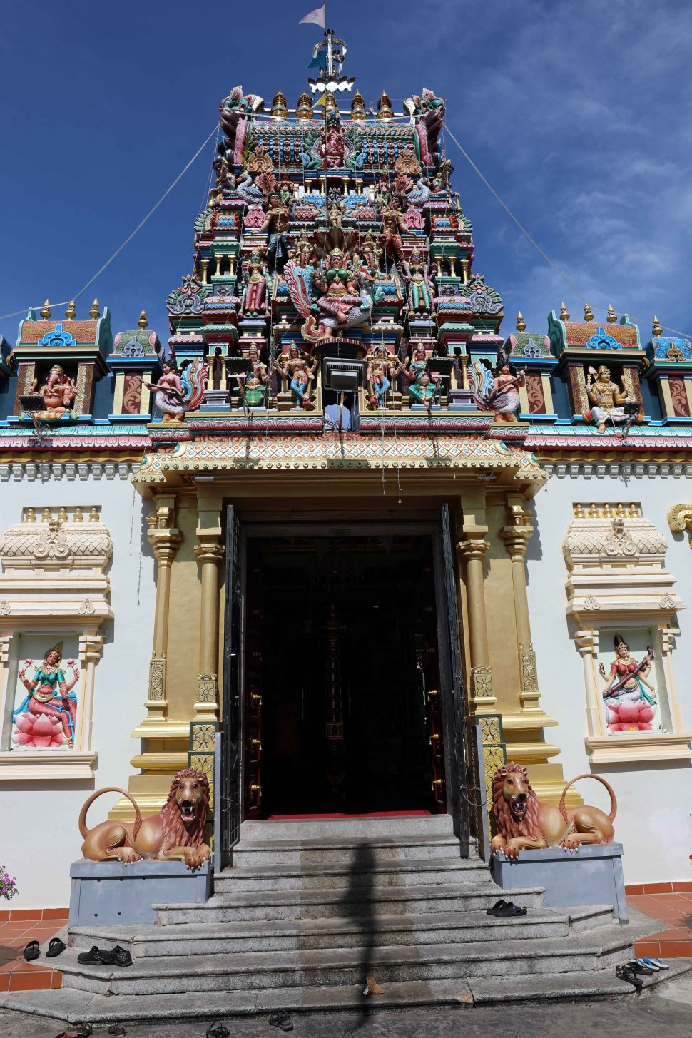 Hindu Temple, Little India Georgetown