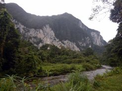 View From Camp 5, Gunung Mulu National Park