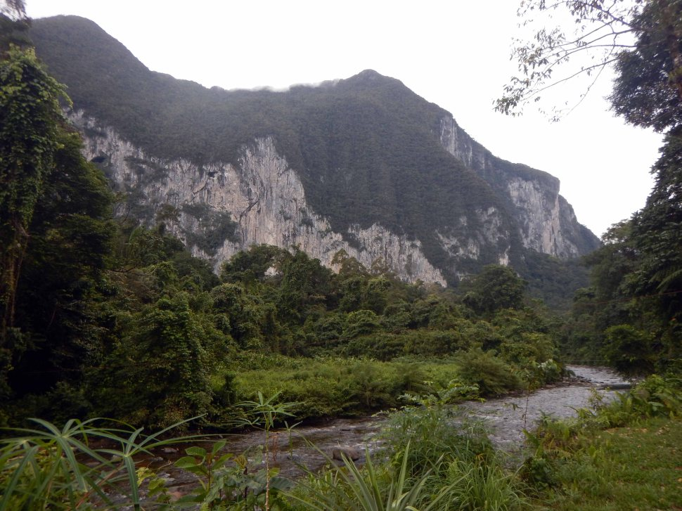 View From Camp 5, Gunung Mulu National Park