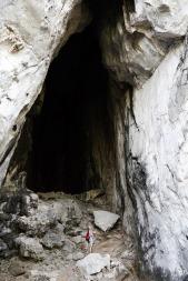 Bat Cave climbing wall
