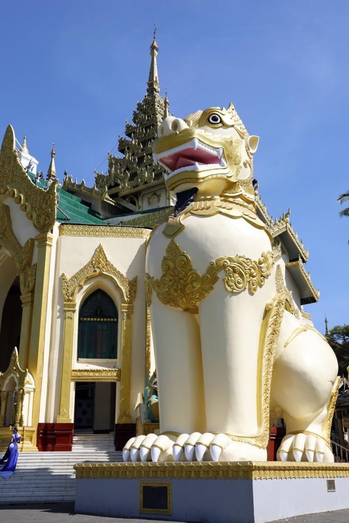 Leogryph, Shwedagon Pagoda
