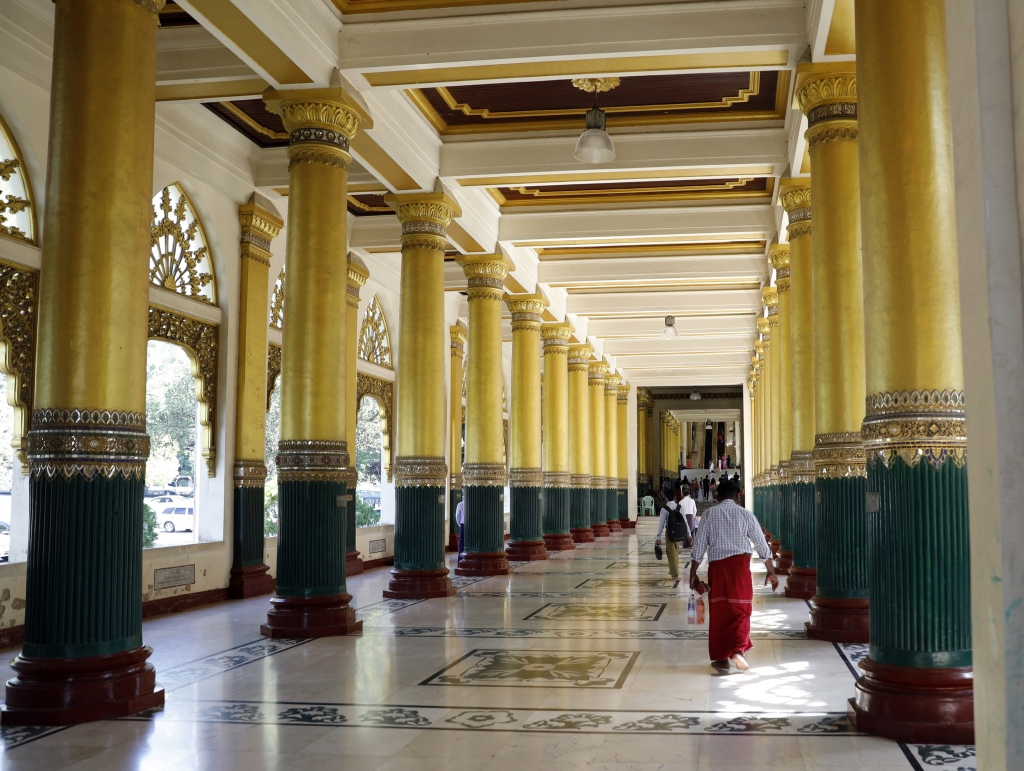 Entry way, Shwedagon Pagoda