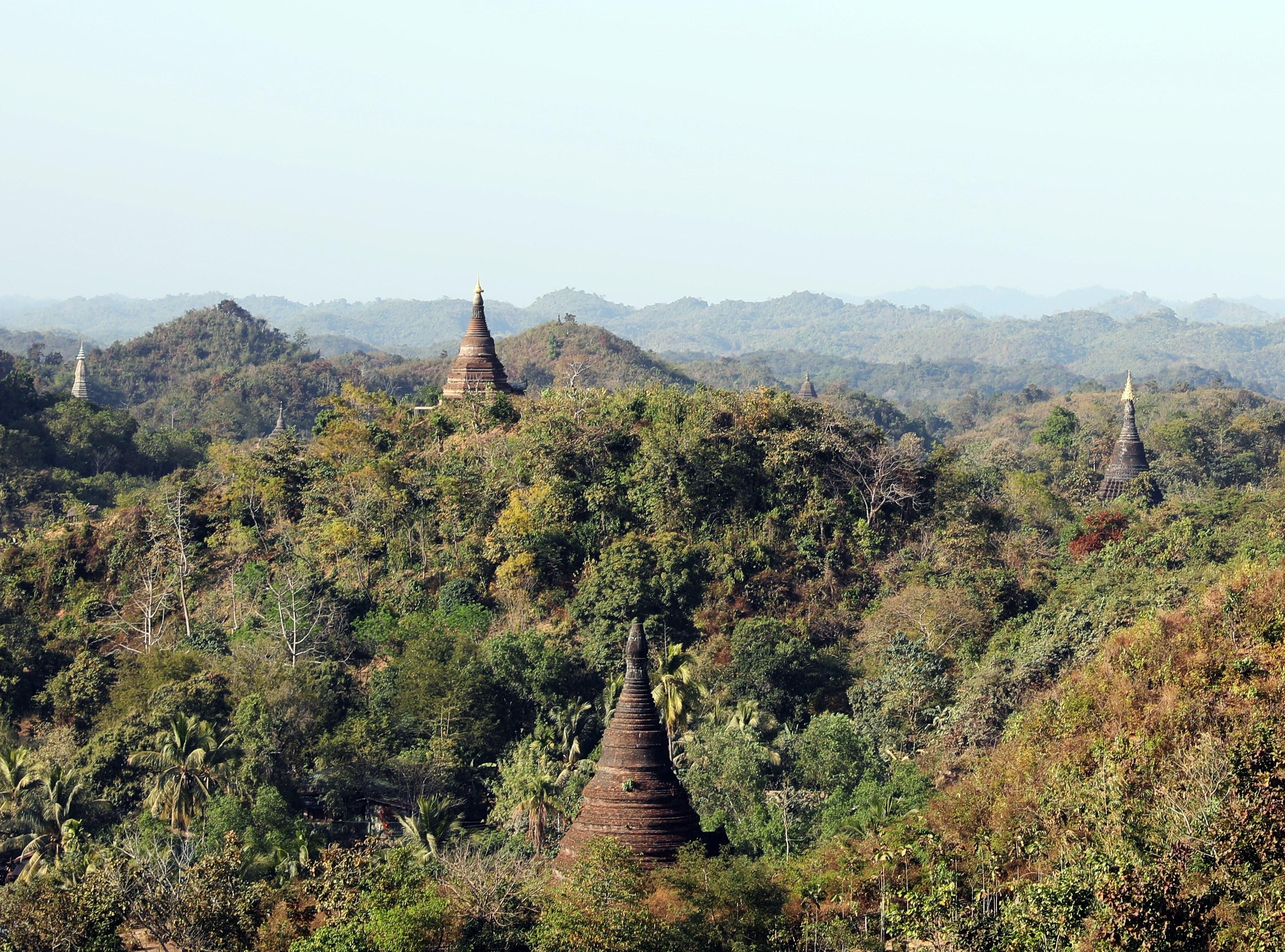 View of Mrauk U