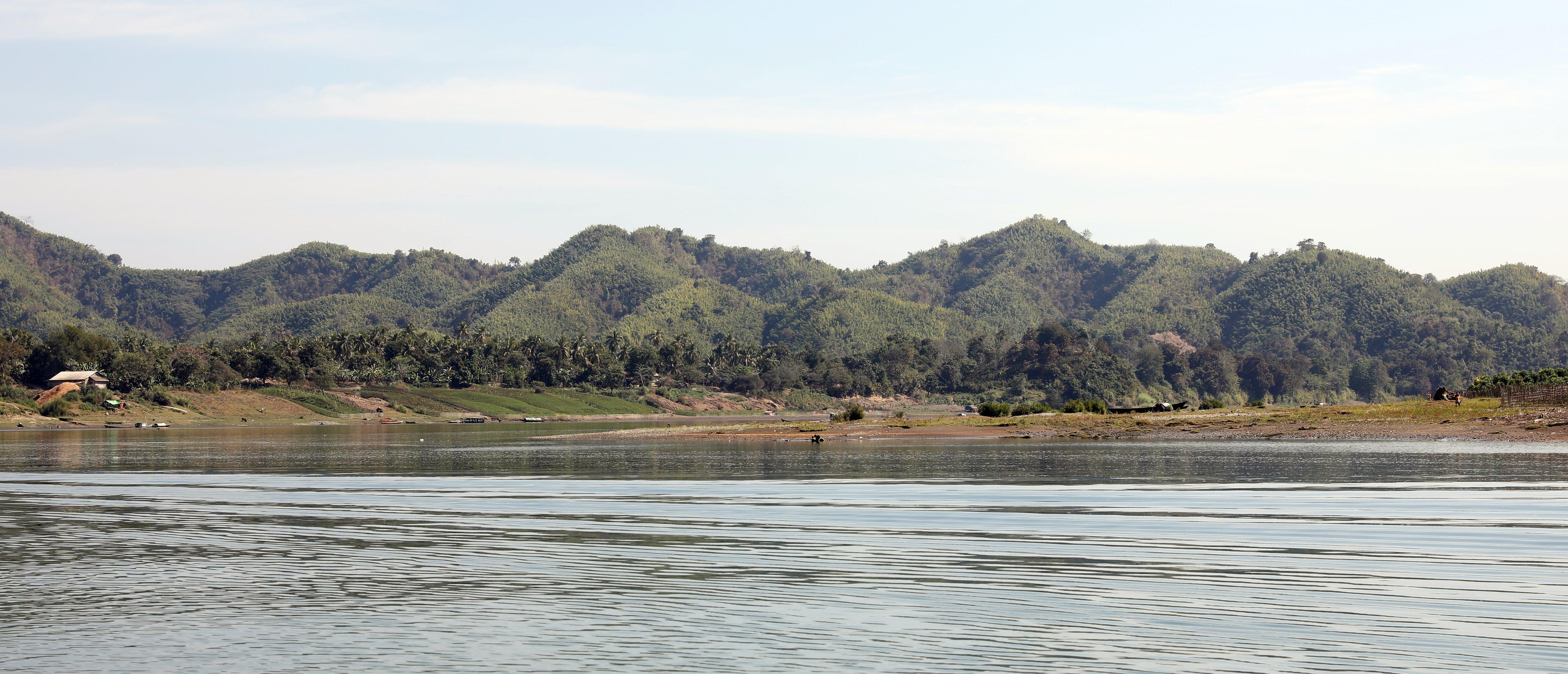 Rakhine Mountain range from Laymro River