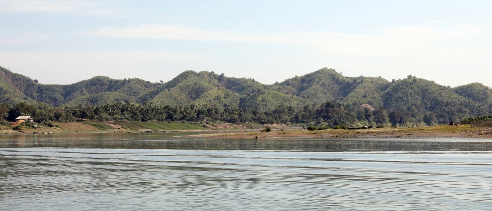 Rakhine Mountain range from Laymro River