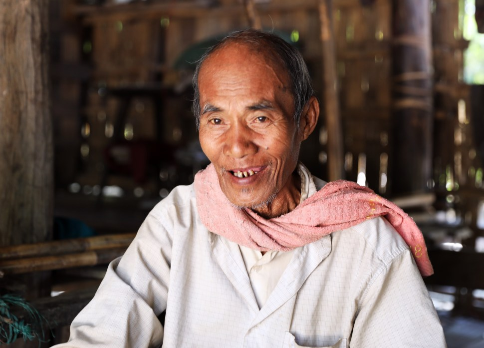 Polygamist Chin tribe man