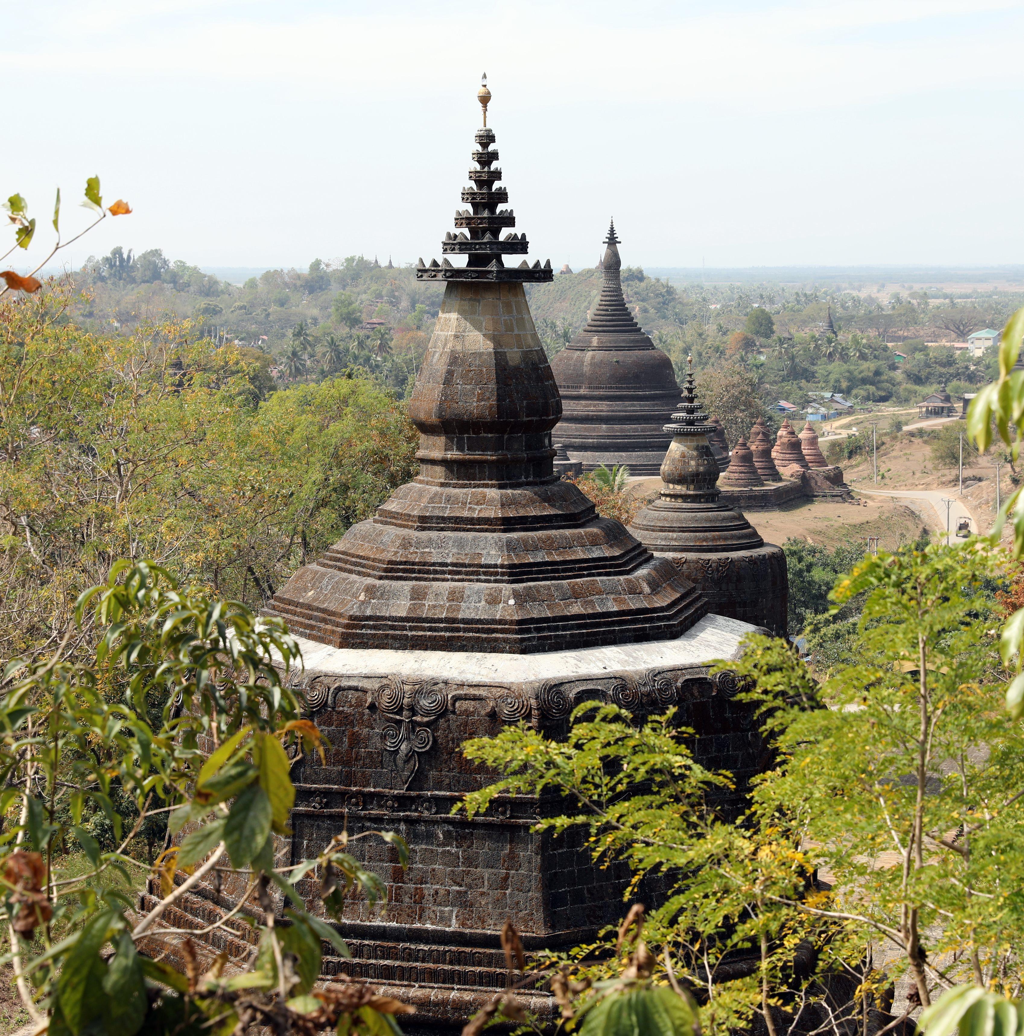 Pagodas Mrauk U