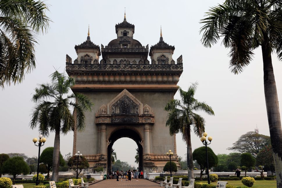 Patuxay Monument, Vientiane