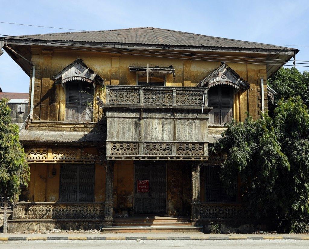 Colonial building, Mawlamyine