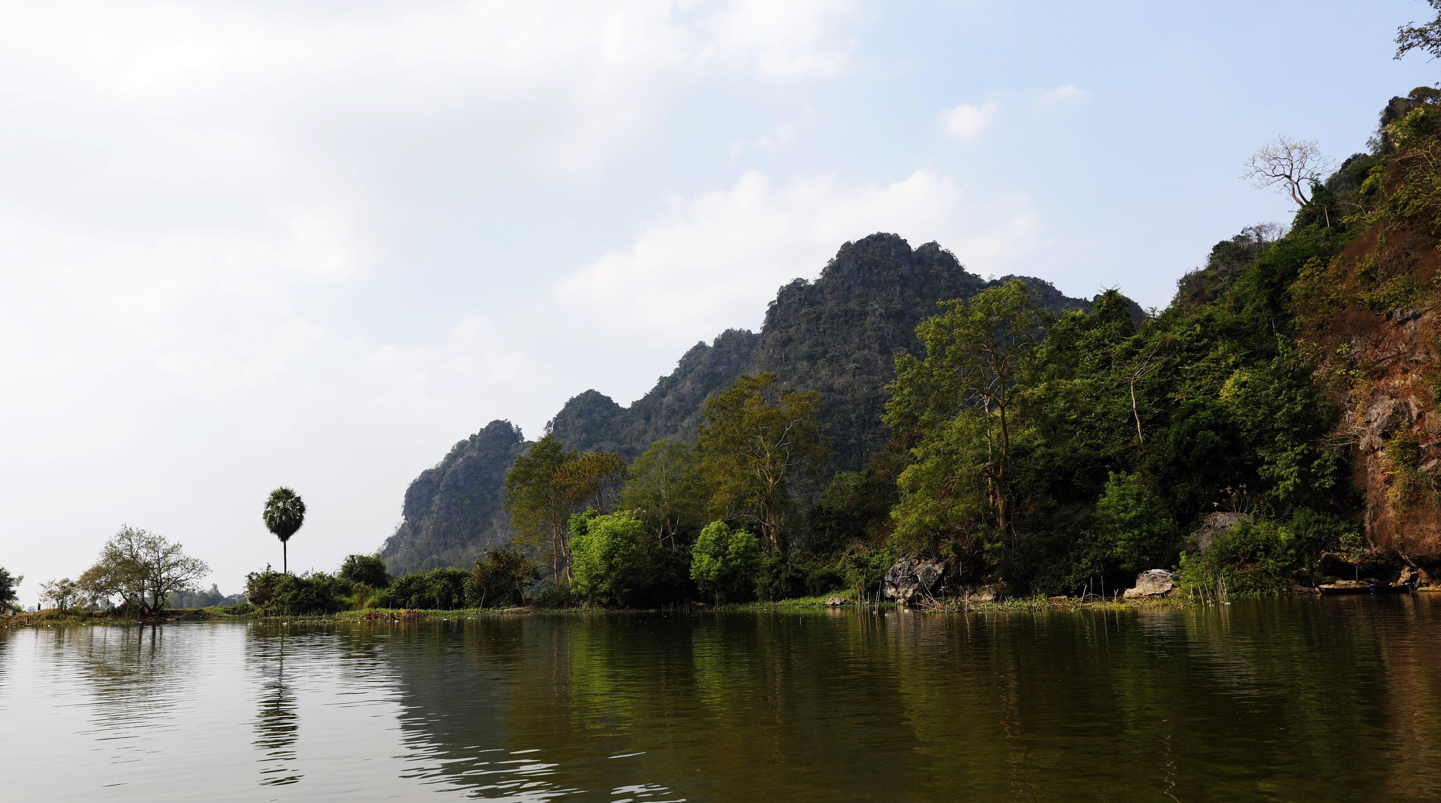 Lake at Saddan Cave