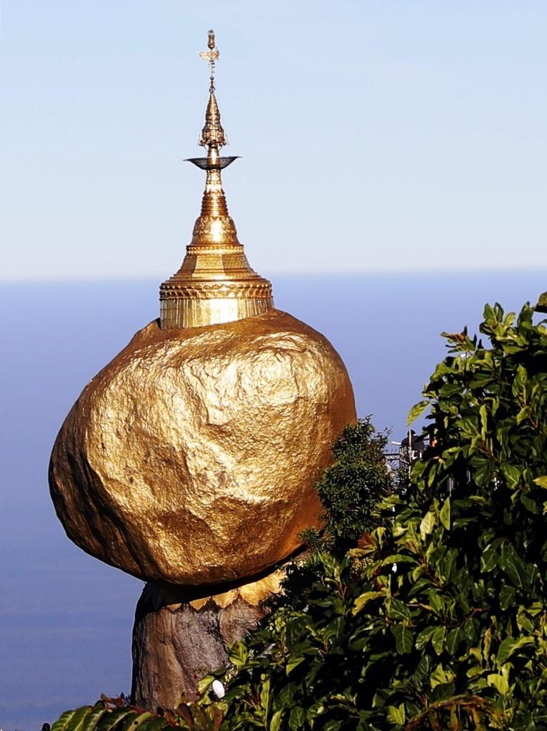 Golden Rock, Mt Kyiktiyo
