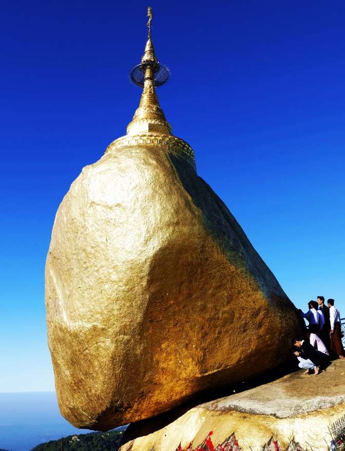 Golden Rock, Mt Kyaikthyo