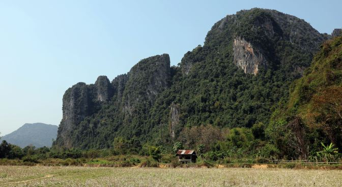 Karst Mountains, Vang Vieng