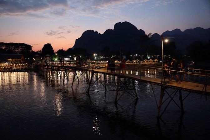 Sunset, Vang Vieng