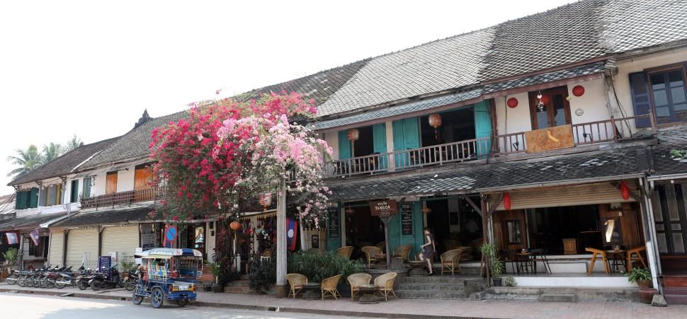 Colonial downtown of Luang Prabang