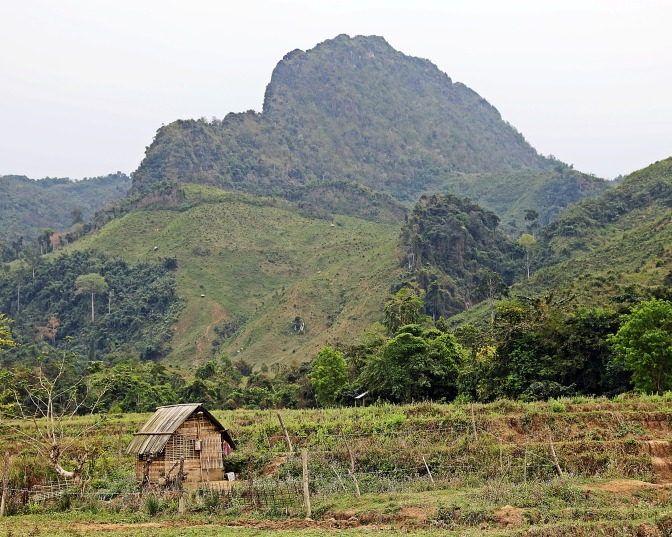 Mountains near Nong Khiaw