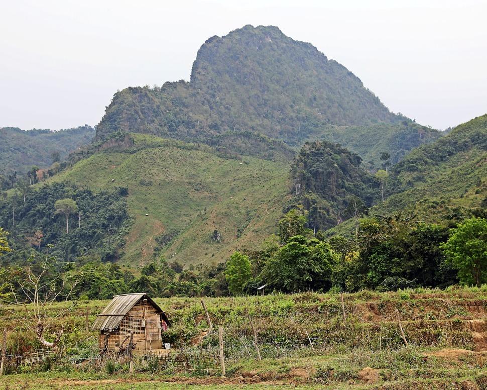 Mountains near Nong Khiaw