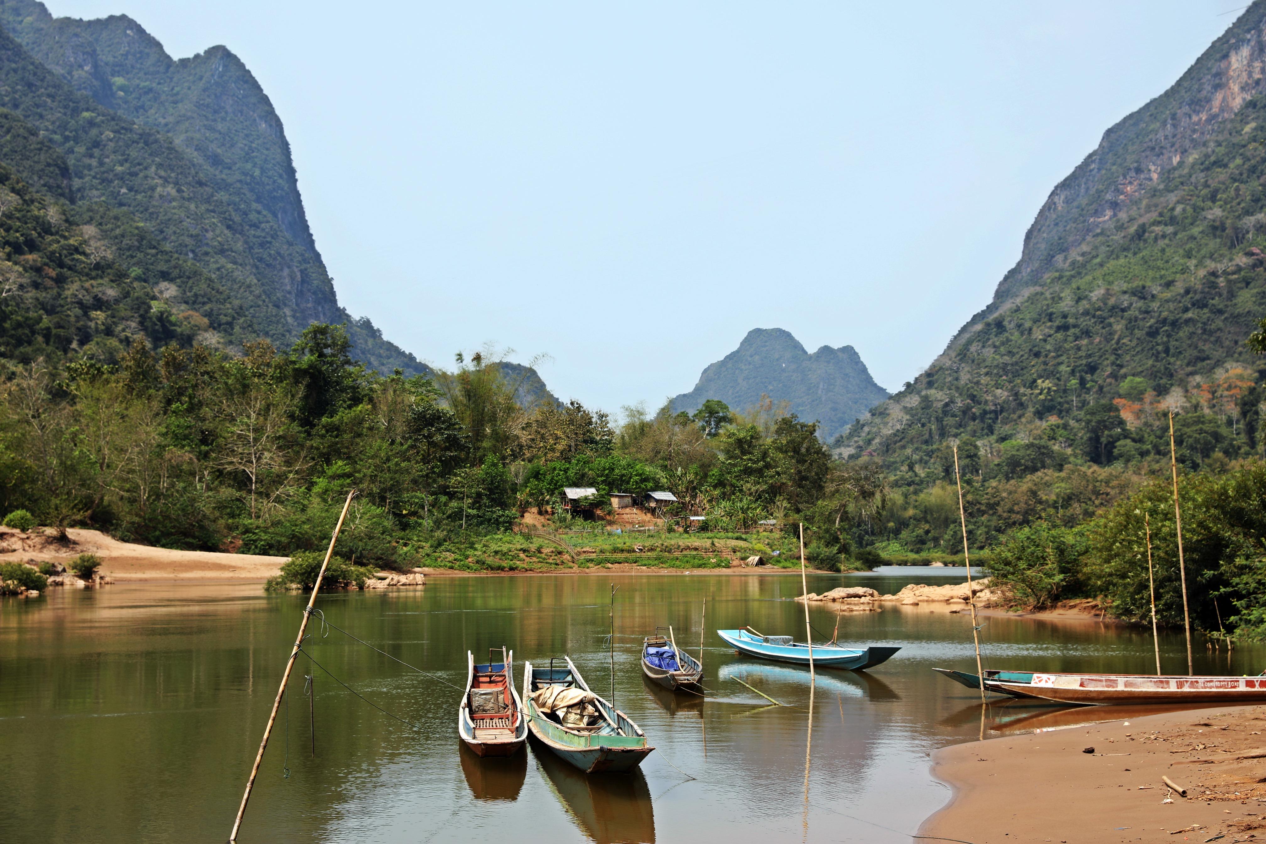 Nam Ou River, Muang Ngoi