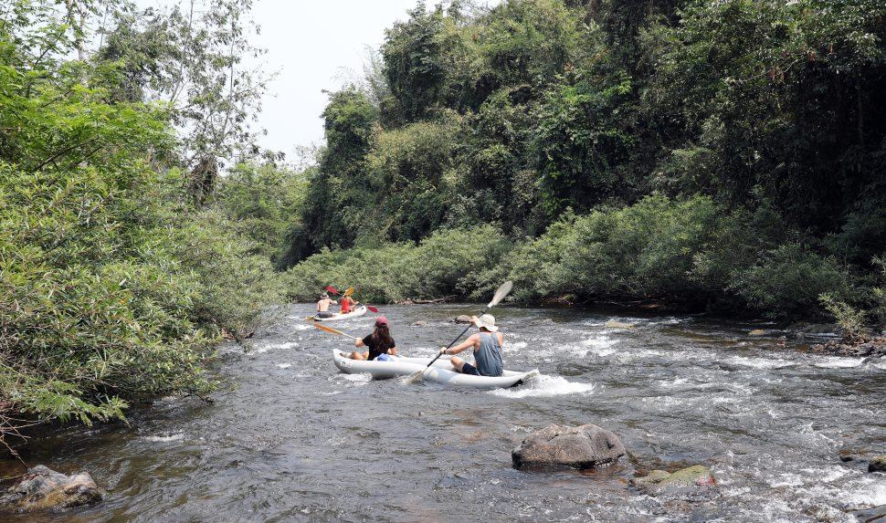 Kayaking on the Nam Ha River