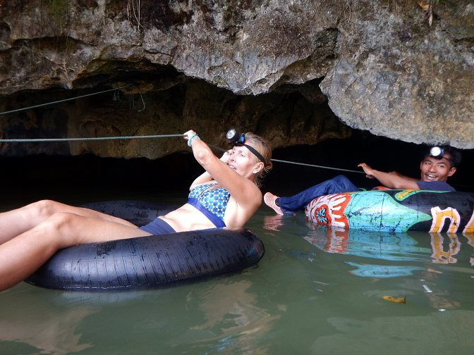 Water Cave, Vang Vieng