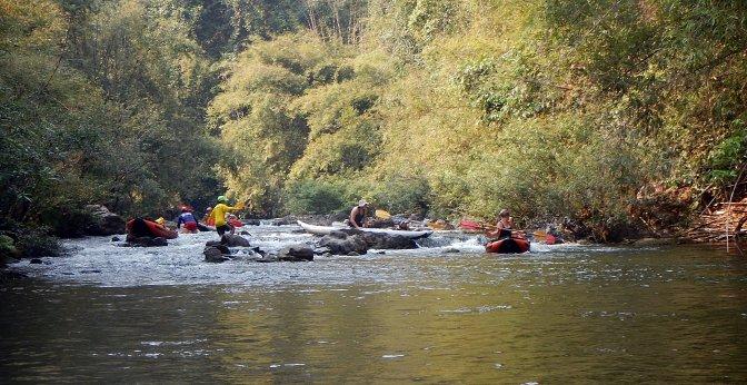 Mayhem in the rapids, Nam Ha River