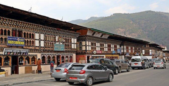 Downtown Paro