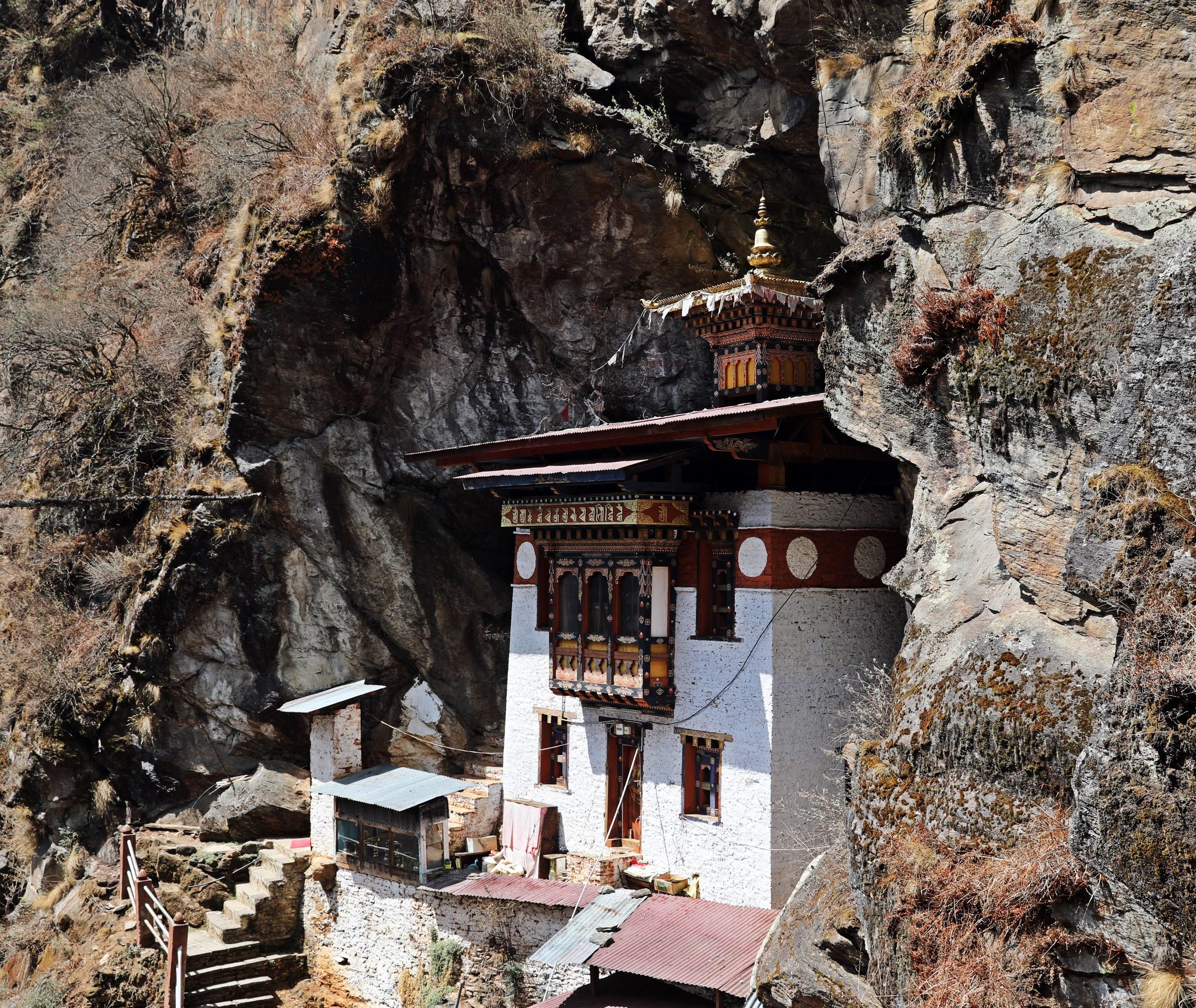 Meditation Temple above Tiger's Nest
