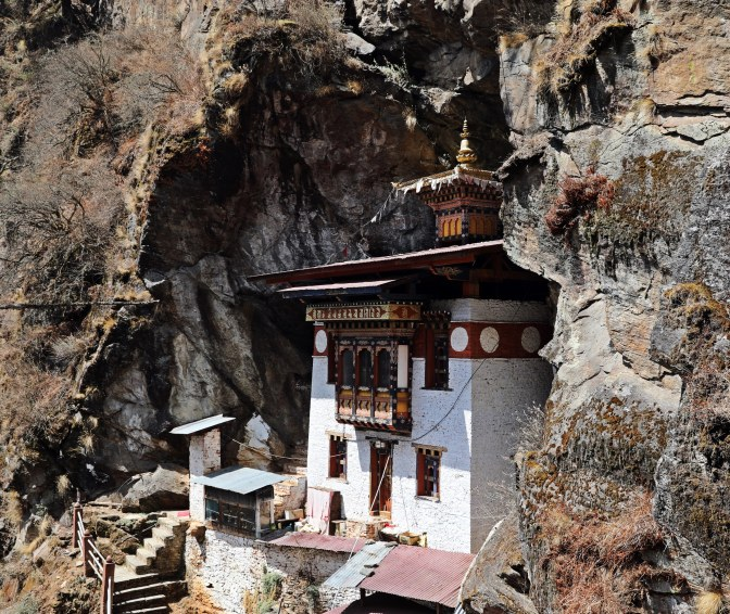 Meditation Temple above Tiger's Nest