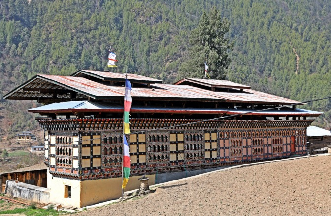 Traditional Bhutanese architecture