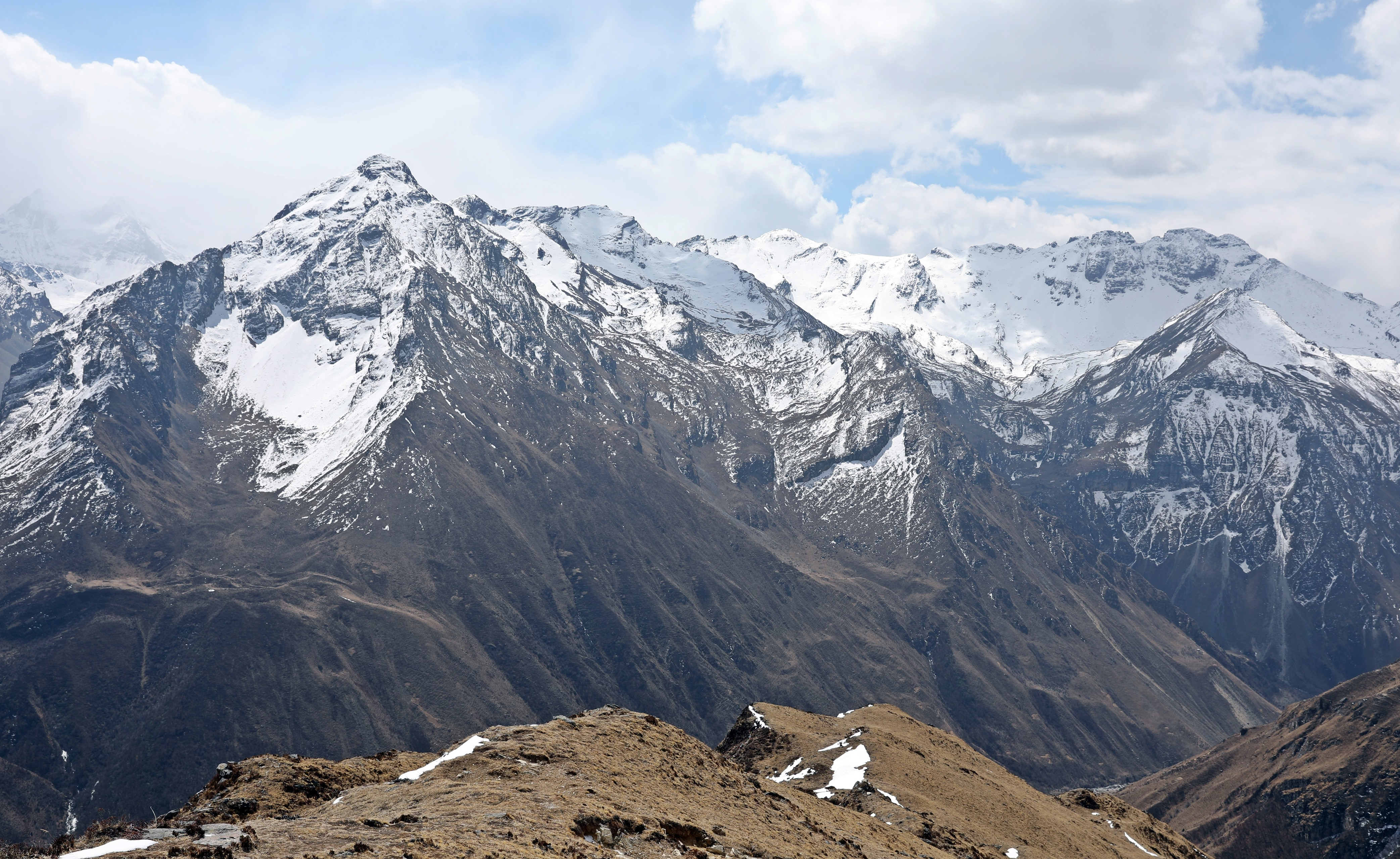View from acclimatization trek