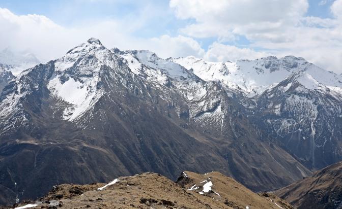View from acclimatization trek