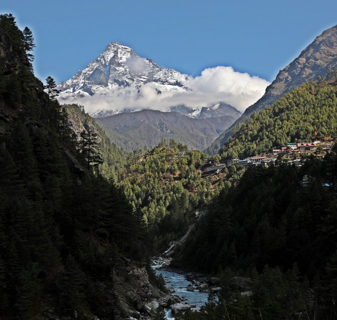 Dudh Kosi (River) on the Everest Base Camp Trek