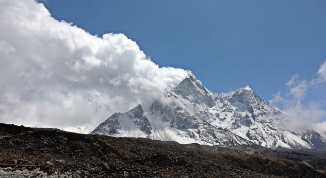 Ama Dablam and its plume