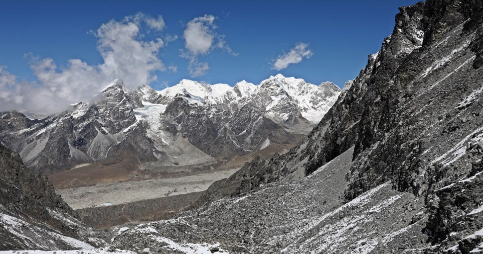 View of Labouche from Kongma La (Pass)