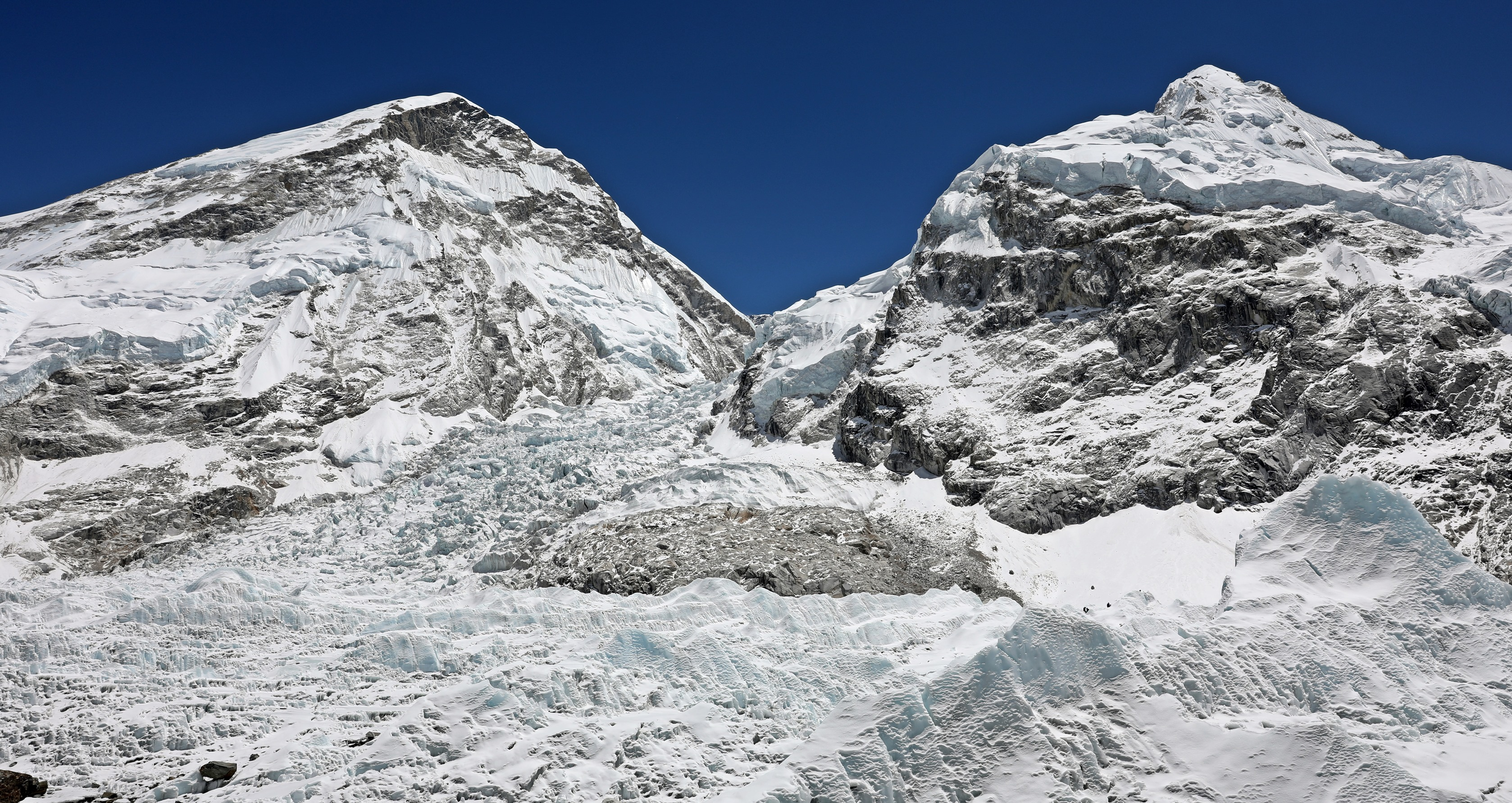 Khumbu Icefield at Base Camp