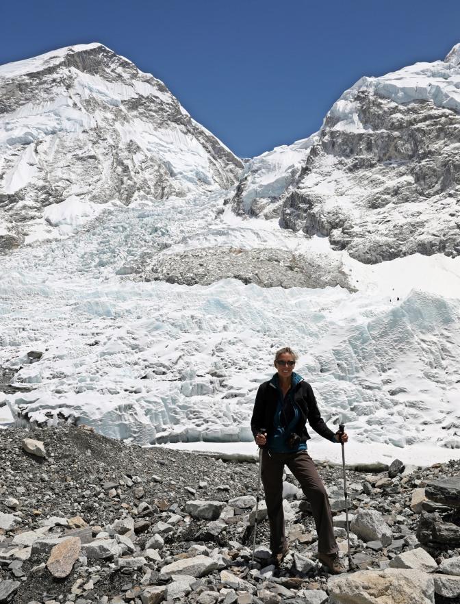 Khumbu Icefield at Base Camp