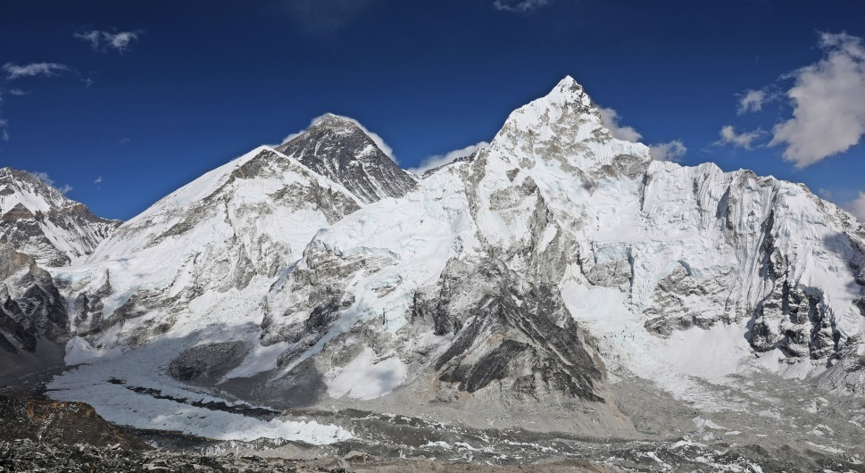 Everest, Nuptse and Lhotse from Kala Pattar