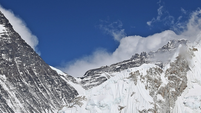 Everest's South Col (location of Camp 4)