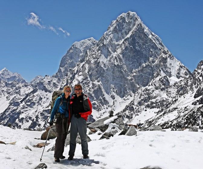 Arakam Tse from below Cho La (Pass)
