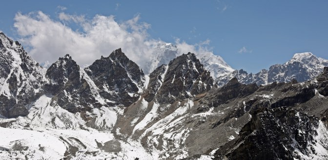 View west from Gokyo Ri