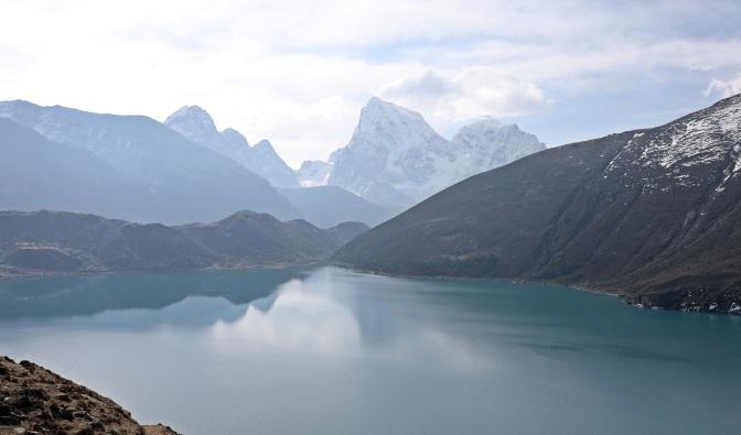 Dudh Pokhori (Lake) from below Rinja La (Pass)