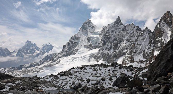 View from Rinja La (Pass)